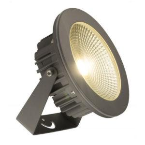Éclairage interieur -SUMMIT - 20W - alu / verre - 1600lm - 3000K - dia 190mm x 200mm - gris