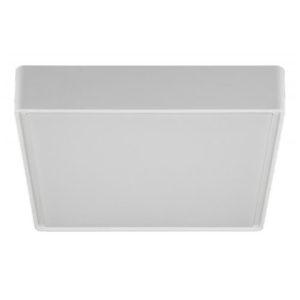 Éclairage interieur -GOA carré - 16W - plastic - 1280lm - 3000K - IP65 - 296mm x 296mm x 78mm - blanc
