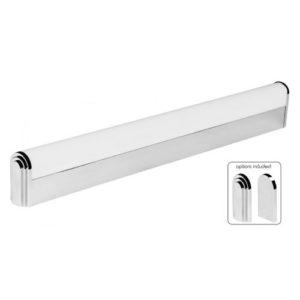 Éclairage interieur -BALNEO - 12W - alu / plexi - 1160lm - 2700K - 38mm x 610mm x 78mm - chromé