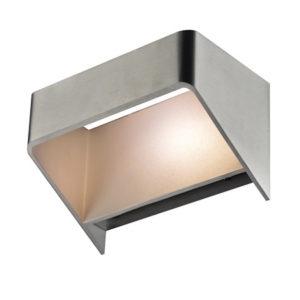 Éclairage interieur -X-TRA - 4W - alu - 3000K - 150mm x 90mm x 90mm - IP20 - alu brossé