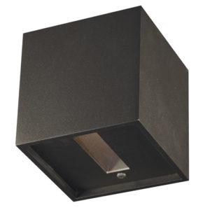 Éclairage interieur -NEMO - 1x G9 2,5W - alu - 386lm - 3000K - 102mm x 102mm x 102mm - noir mat