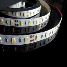 Éclairage interieur -LED Strip - 12VDC - 14,4w/m - 1350lm/m - 3000K- IP20 - 5630smd - par 10cm