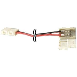 Éclairage interieur -Double end connector avec câble pour LED strip flexible SMD5050 / SMD5630 - 10mm