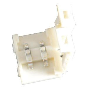 Éclairage interieur -Double end connector sans câble pour LED strip flexible SMD5050 / SMD5630 - 10mm