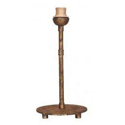 Éclairage interieur -PLUMBER lampe de table - 1x E27 - acier - max 60W - 180mm x 380mm - vieux bronze