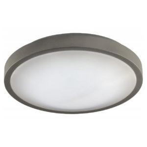 Éclairage interieur -OXY CCT - 12W - acier / plexi - 960lm - dia 300mm x 90mm - argent