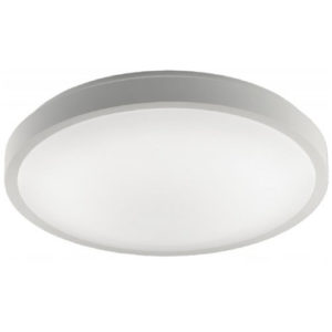 Éclairage interieur -OXY CCT - 12W - acier / plexi - 960lm - dia 300mm x 90mm - blanc mat