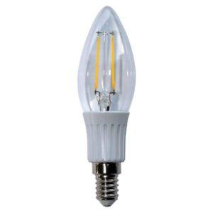 Lampes LED -Filament kaars - E14 - 2W - 200lm - 2700K - Ra
