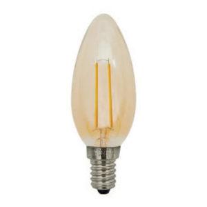 Lampes LED -Filament bougie - E14 - 2W - 200lm - 2700K - Ra