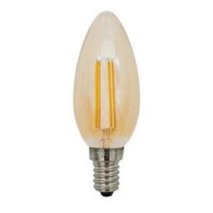 Lampes LED -Filament bougie - E14 - 4W - 400lm - 2700K - Ra