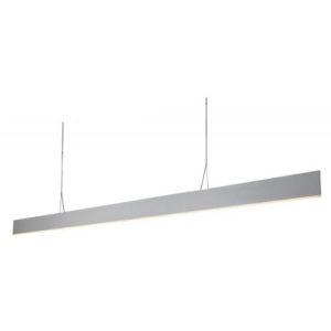 Éclairage interieur -PURE pendule longue - 42W - alu - 2940lm - 3000K - 2500mm x 1200mm - blanc mat