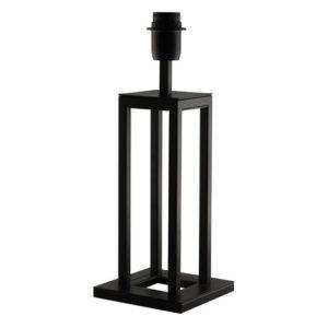 Éclairage interieur -KAGO lampe de table - 1x E27 - acier - max 60W - 150mm x 150mm x 300mm - noir