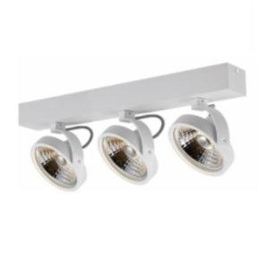 Éclairage interieur -PULSE - 3x AR111 12W - 30° - alu - 2700K - 146mm x 62mm x 182mm - blanc