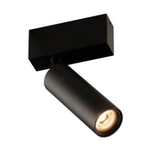 Éclairage interieur -Lopal spot - 1x 4W AC COB LED - 2700K - 1x 360lm - dimmable - noir