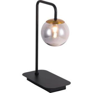 Éclairage interieur -TSURU lampe de table - 1x G9 2,5W incl. - 210lm - 2700K - dim- noir mat / bronze